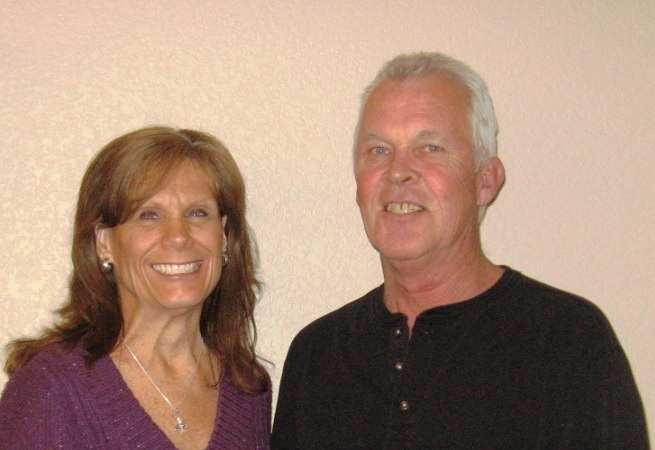 John & Nancy Frazier owners of Best Hands Roofing